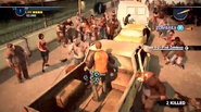 Dead rising 2 Case 0 quarantine zone jumping from vehicles (6)