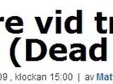 2009-12-08 - Aftonbladet Interview