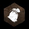 """""""Ein kleines Baumwollsäckchen, gefüllt mit weißem Kalkpulver aus unbekannter Herkunft. Manche glauben, es bringe Glück."""""""