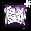 """Restraint"" - Carter's Notes"