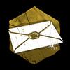 """""""Ein unadressierter und ungeöffneter Brief, vergilbt durch den Zahn der Zeit. Sein Inhalt wird nie bekannt werden."""""""