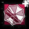 Iridescent Umbrella Badge}}