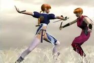 Kasumi and her clone