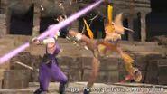 Rikku kicks Ayane