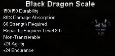 Black Dragon Scale
