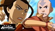 """Aang Fights Azula in """"The Drill"""" to Save Ba Sing Se! Avatar"""