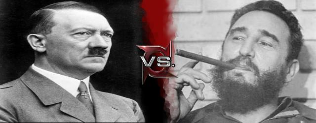 Adolf Hitler vs Fidel Castro.png