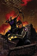 Bucky and Hawkeye