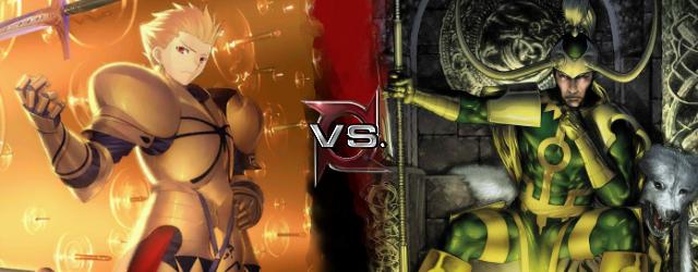 Gilgamesh vs Loki.png