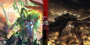 Green Knight vs Ghost Rider
