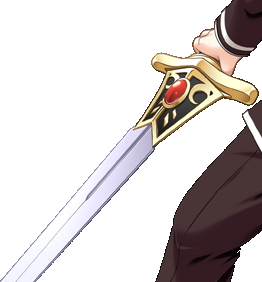 Yeah, sure, this is from Chris' sprites, but it's the same sword