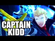 PERSONA 5 - Ryuji Summons His Persona - Captain Kidd Scene