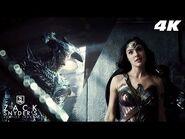 Wonder Woman vs Steppenwolf Tunnel Fight Scene -4K- - Zack Snyder's Justice League
