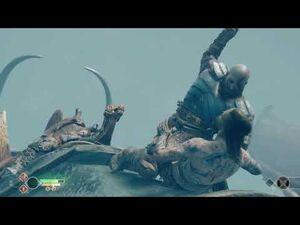 GOD_OF_WAR_PS4_-_Kratos_Vs_Baldur_On_The_Dragon