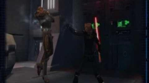 SWTOR Sith Warrior Class Footage