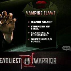 Vampire Claw