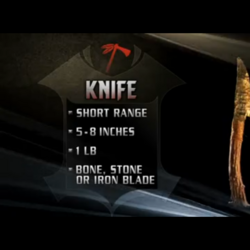 Apache Knife
