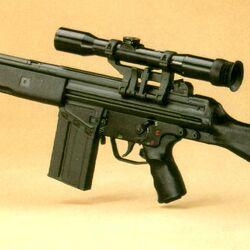 HK G3 Sniper Rifle