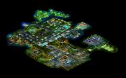 Downtown Santa Rosa map