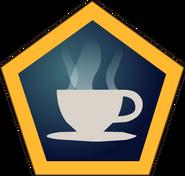 Café button