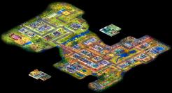 Sacramento Suburbs map