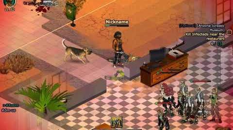 Renown Doggo Quest Arizona Jurassic Musuem (Statue) - Dead Maze Gameplay