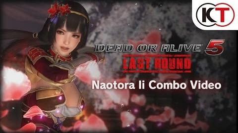 DEAD OR ALIVE 5 LAST ROUND - NAOTORA II COMBO VIDEO