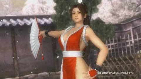 Dead or Alive 5 Last Round - Mai Shiranui from The King of Fighters Announced (PS4 Xbox One PC)