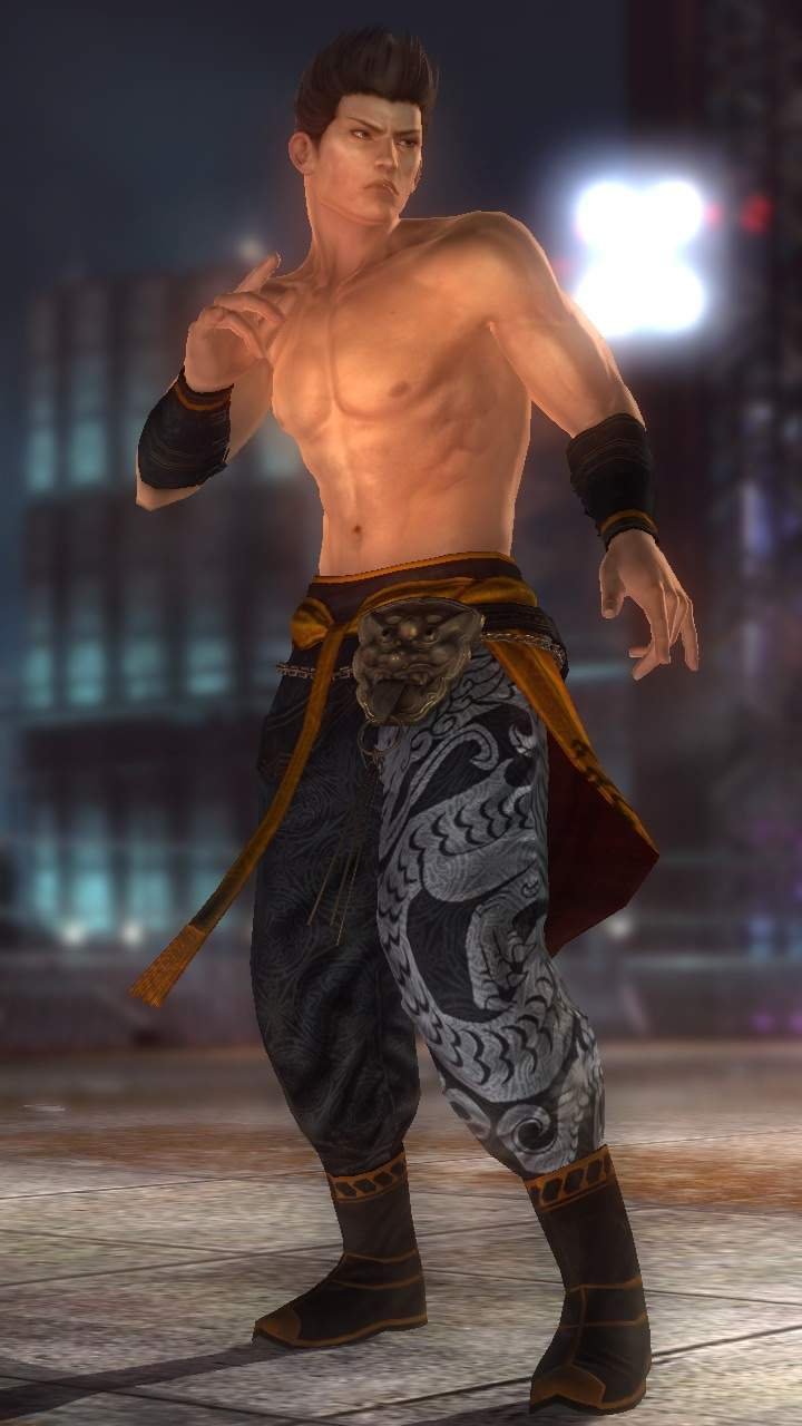 Jann Lee/Dead or Alive 5 Ultimate costumes