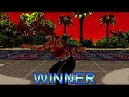 Dead or Alive - Zack (Intro & Victory Poses)