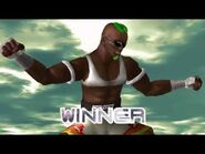 Dead or Alive 2 - Zack (Intros & Victory Poses)