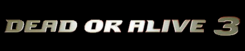 Dead or Alive 3 logo High Quality