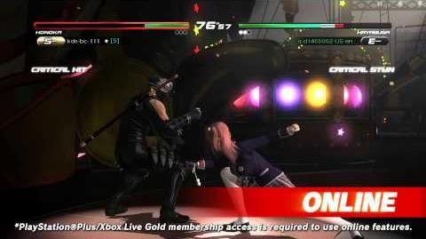DEAD OR ALIVE 5 Last Round - Core Fighters Trailer