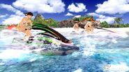 DOAX2 WaterRace FangKasumiHitomi