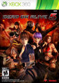 Dead or alive 5 xbox 360 US cover