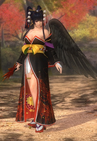 Nyotengu/Dead or Alive 5 Ultimate costumes