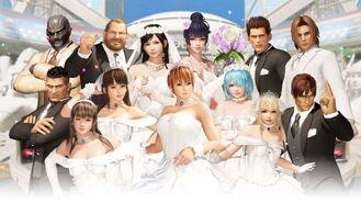 DOA6 Wedding 1