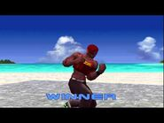 Dead Or Alive ++ - Zack (Intro & Victory Poses)(PS1)