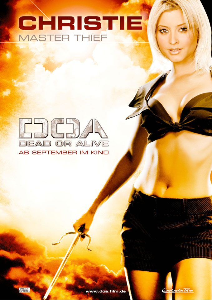 doa dead or alive characters