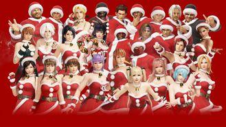 DOA6 Santa's Helper Costume Set