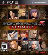 DOA5U PS3 Cover NA