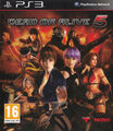 Dead or alive 5 playstation 3 PAL front cover