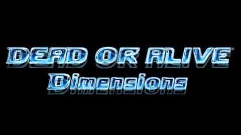 Dead or Alive Dimensions - Main Menu