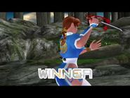 Dead or Alive 2 - Kasumi (Intros & Victory Poses)
