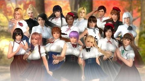 『DEAD OR ALIVE 5 Last Round』「お嬢様の休日コスチューム」 紹介ムービー
