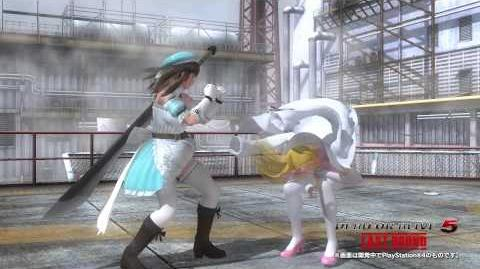 『DEAD OR ALIVE 5 Last Round』 「閃乱カグラ コラボコスチューム」プレイ動画