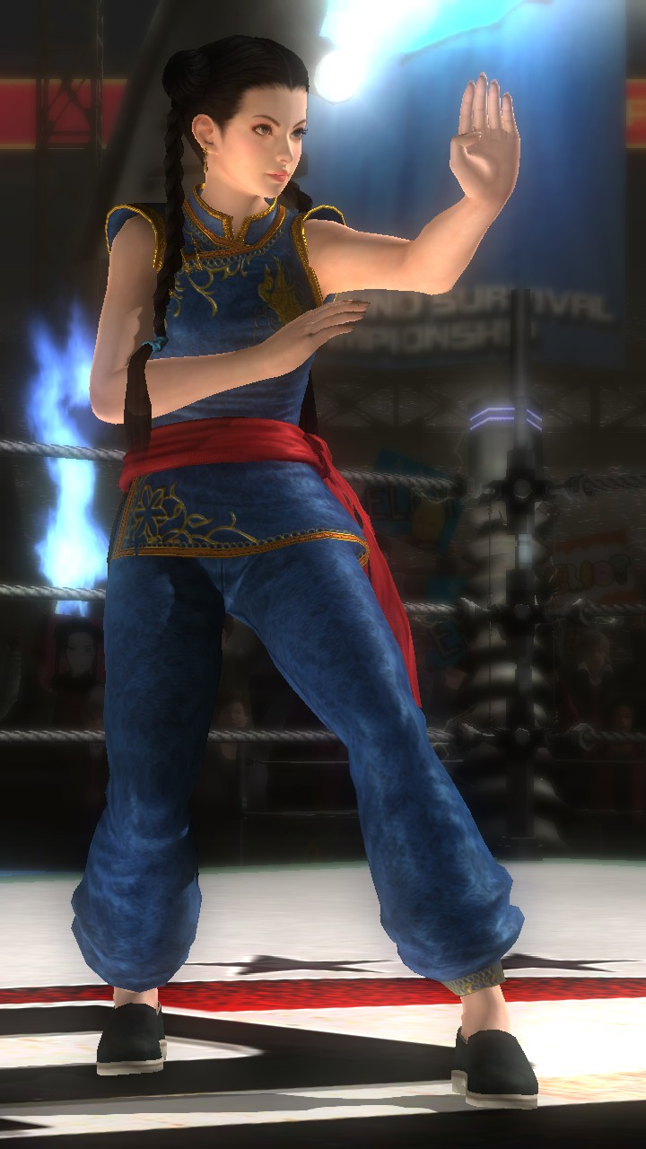 Pai Chan/Dead or Alive 5 Last Round costumes