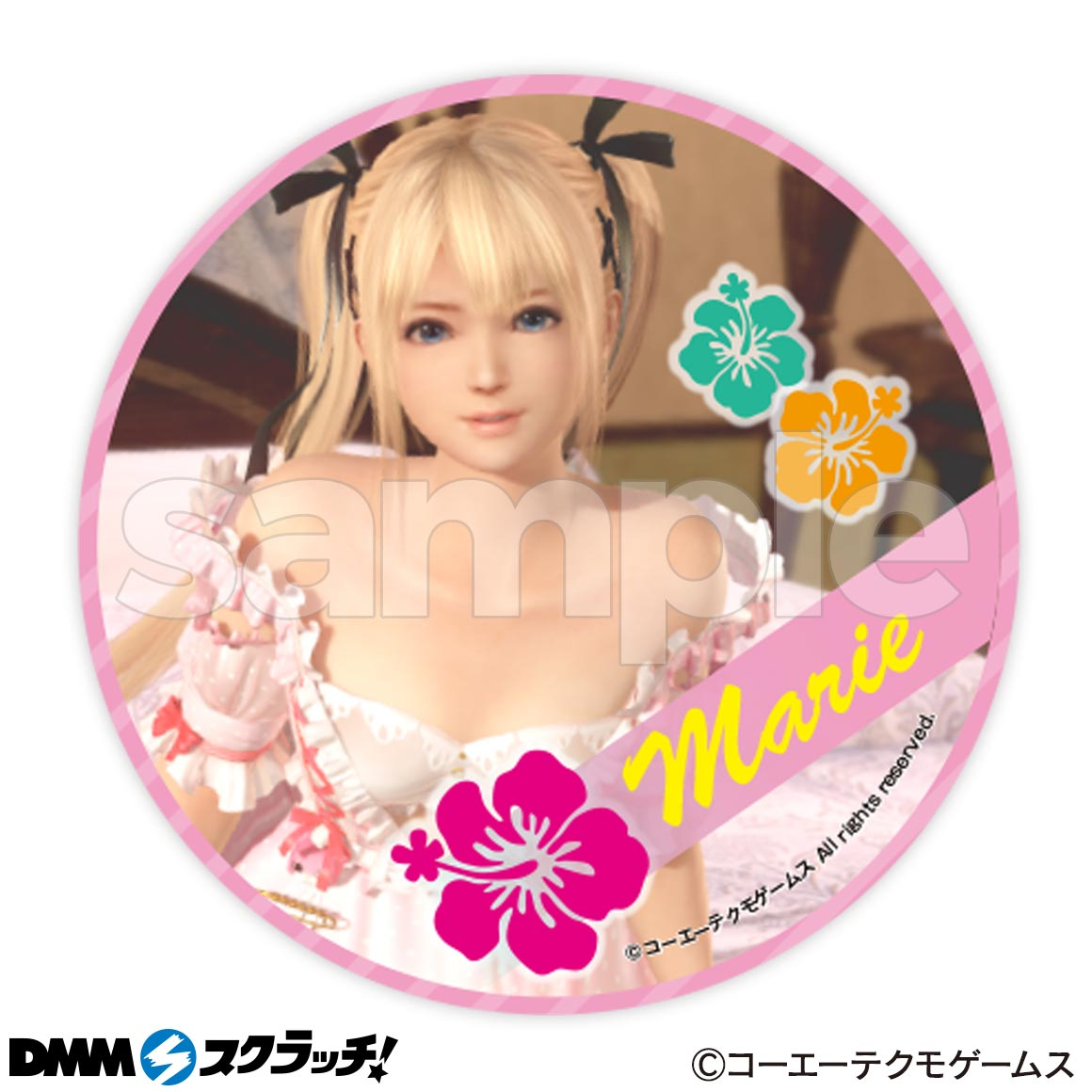 Dead or Alive Xtreme Venus Vacation Cans Badges