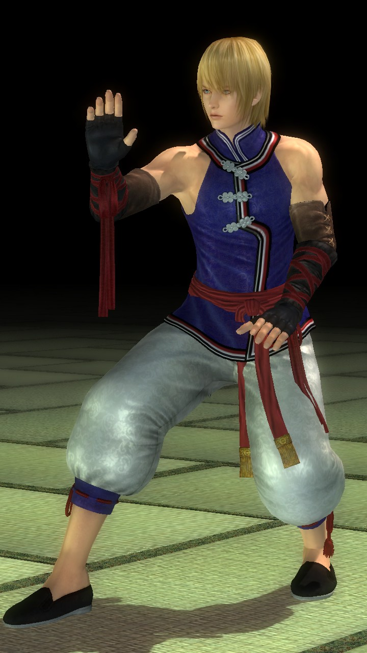Eliot/Dead or Alive 5 Ultimate costumes