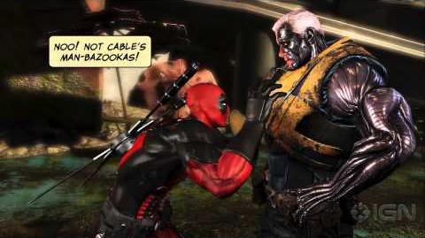 Deadpool The Game's Juvenile But Awesome Trailer-0